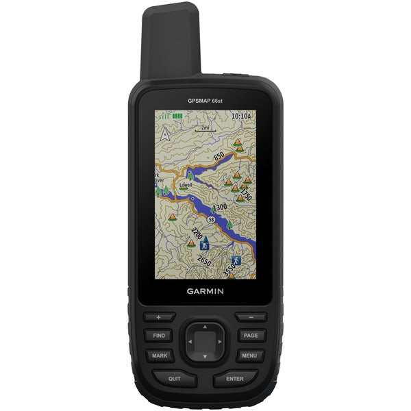 GPSMAP(R) 66st Multisatellite Handheld with Sensors & TOPO Maps