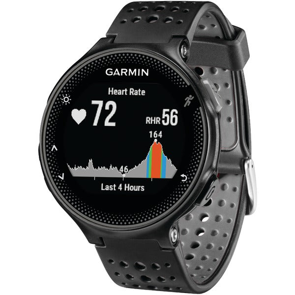 Forerunner(R) 235 GPS Running Watch (Black-Gray)