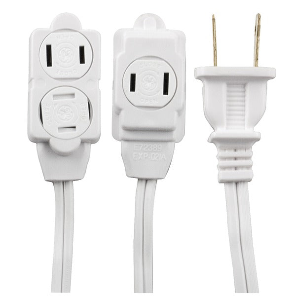 3-Outlet Extension Cord, 12ft