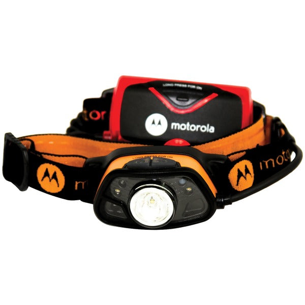 250-Lumen Headlamp with Motion and Light Sensing Technology
