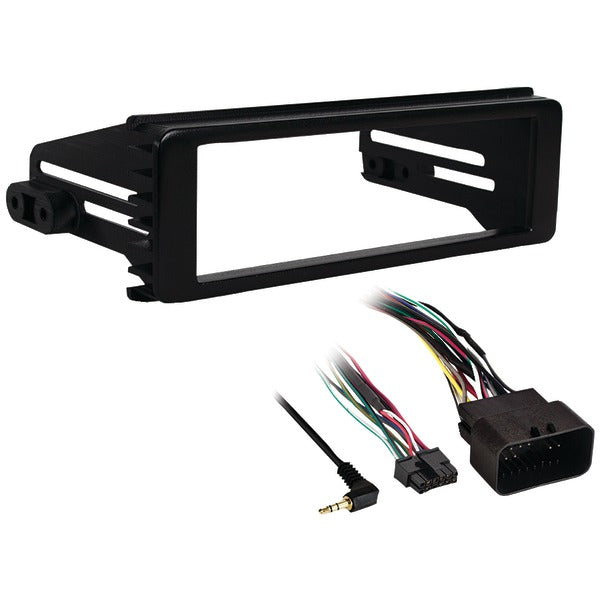Single-DIN Installation Kit for 1998 through 2013 Harley-Davidson(R) Touring
