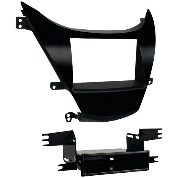 Double-DIN-ISO-DIN with Pocket Installation Kit for 2011 through 2013 Hyundai(R) Elantra