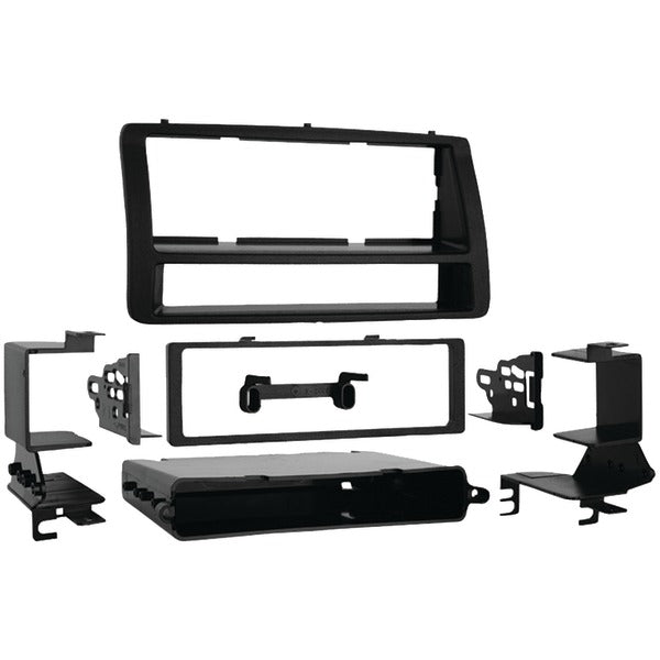 Single-DIN-ISO-DIN Installation Kit with Pockets for 2003 through 2008 Toyota(R) Corolla