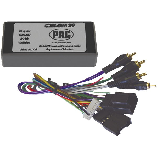 Radio Replacement Interface (29-Bit Interface for 2007 GM(R) vehicles with No OnStar(R) System)