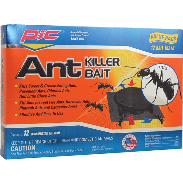 Plastic Ant-Killing Systems, 12 pk