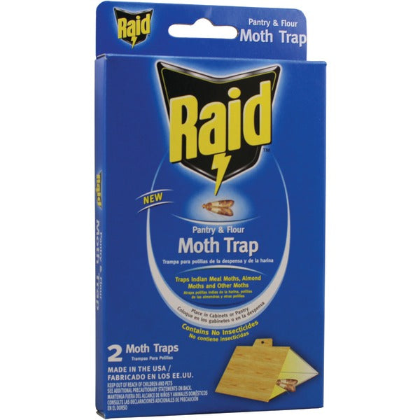 Raid Pantry Moth Trap, 2 pk