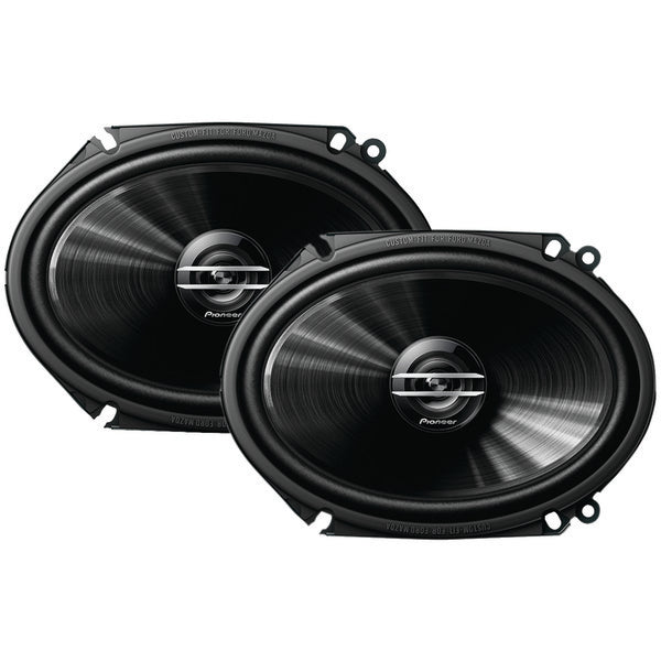 "G-Series 6"" x 8"" 250-Watt 2-Way Coaxial Speakers"