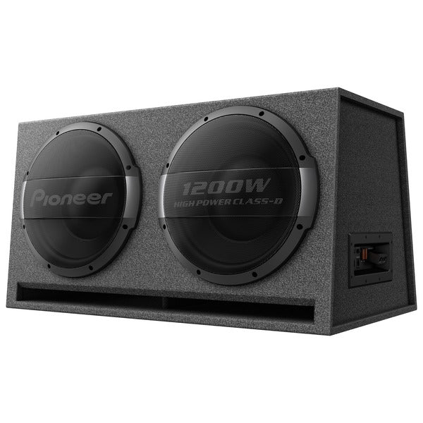Dual 12-Inch Ported Enclosure Powered Subwoofer