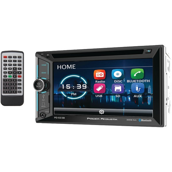 "6.2"" Incite Double-DIN In-Dash DVD Receiver with Bluetooth(R)"