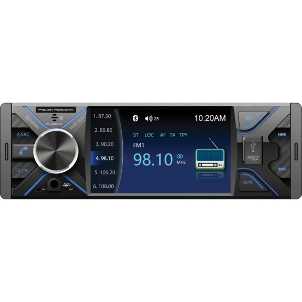 PL-430HB 4.3-Inch Single-DIN In-Dash DVD Receiver with Bluetooth(R)