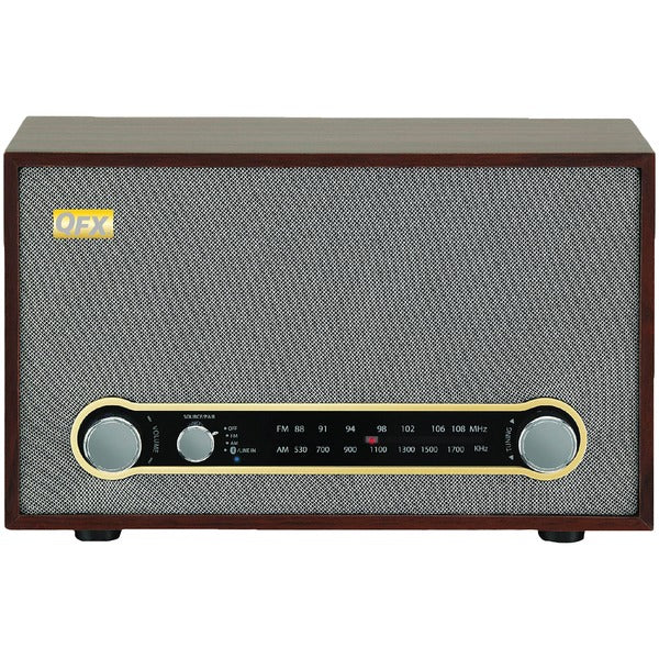 Retro AM-FM-Bluetooth(R) Radio