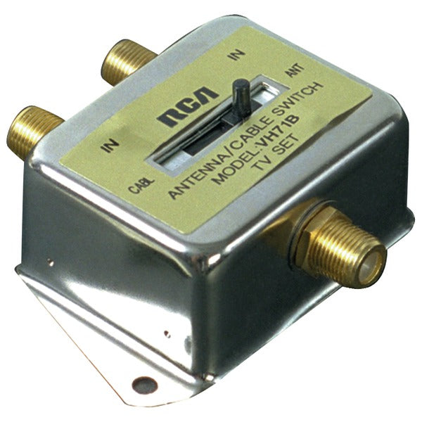 2-Way A-B Coaxial Cable Slide Switch