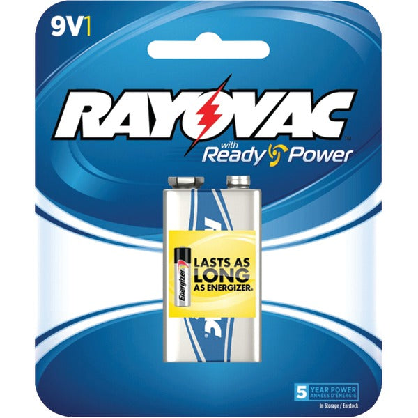 Alkaline Batteries (9V; Single)