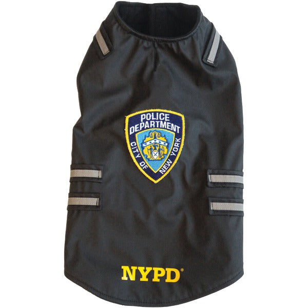 NYPD(R) Dog Vest with Reflective Stripes (Small)