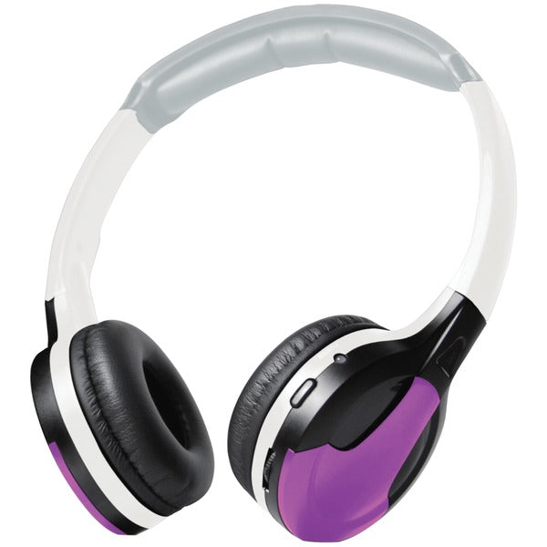Universal IR Wireless Foldable Headphones (Purple)
