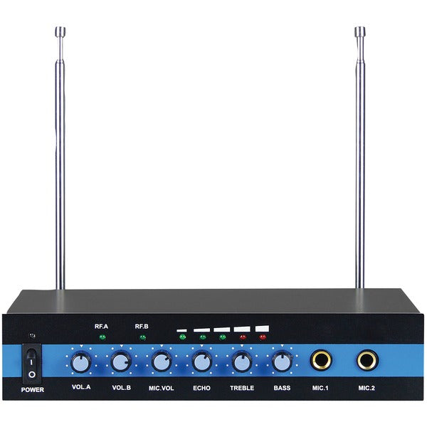 BMP-60 Dual-Channel VHF Wireless Microphone System
