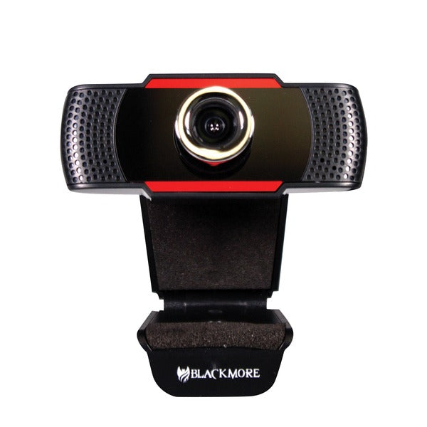 USB 1080p Webcam with Dual Built-In Microphones