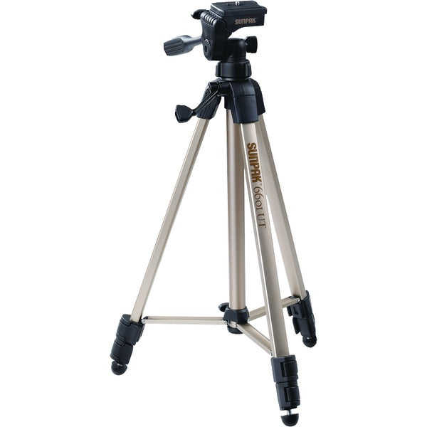 "Tripod with 3-Way Pan Head (Folded height: 20.3""; Extended height: 58.32""; Weight: 2.8lbs; Includes 2nd quick-release plate)"