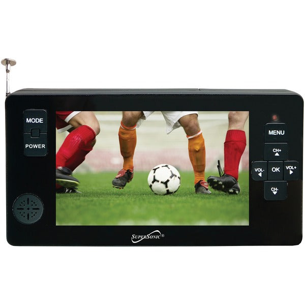 "Supersonic SC-143 4.3"" Portable Digital LED TV with USB & microSD Card Inputs"