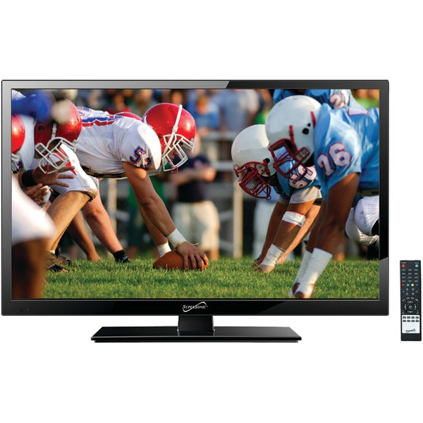 "24"" 1080p LED TV, AC-DC Compatible with RV-Boat"