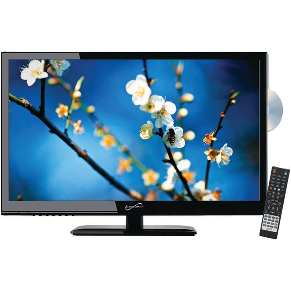 "24"" 1080p LED TV-DVD Combination, AC-DC Compatible with RV-Boat"