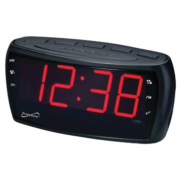 Digital AM-FM Dual Alarm Clock Radio with Jumbo Digital Display