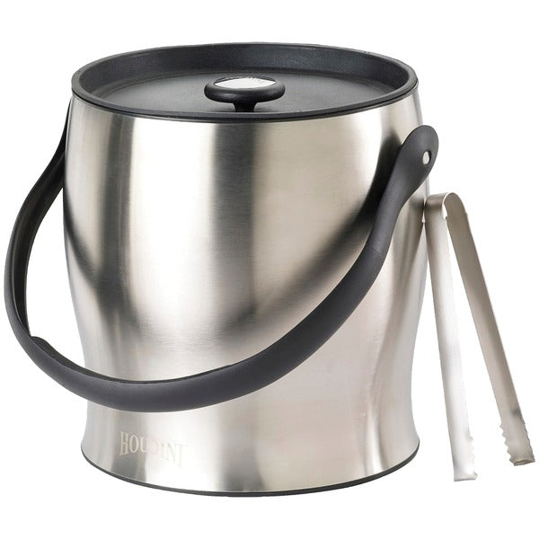 Double-Walled Ice Bucket with Tongs