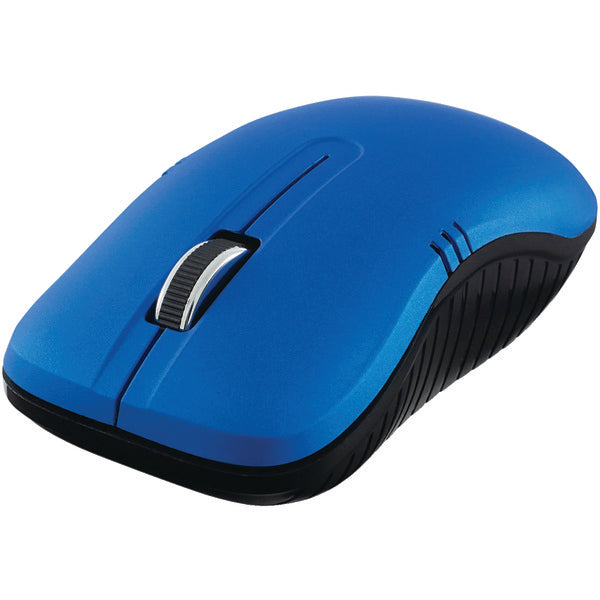 Commuter Series Wireless Notebook Optical Mouse (Matte Blue)