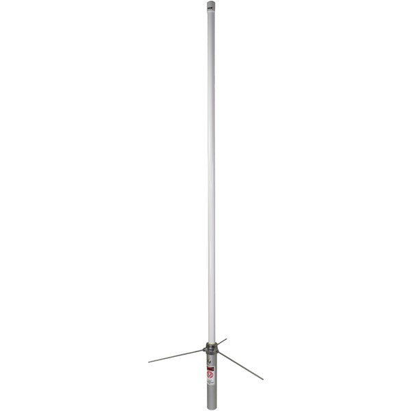 Tram 1477 Pre-Tuned 144MHz-148MHz VHF-430MHz-460MHz UHF Amateur Dual-Band Base Antenna (White Fiberglass)