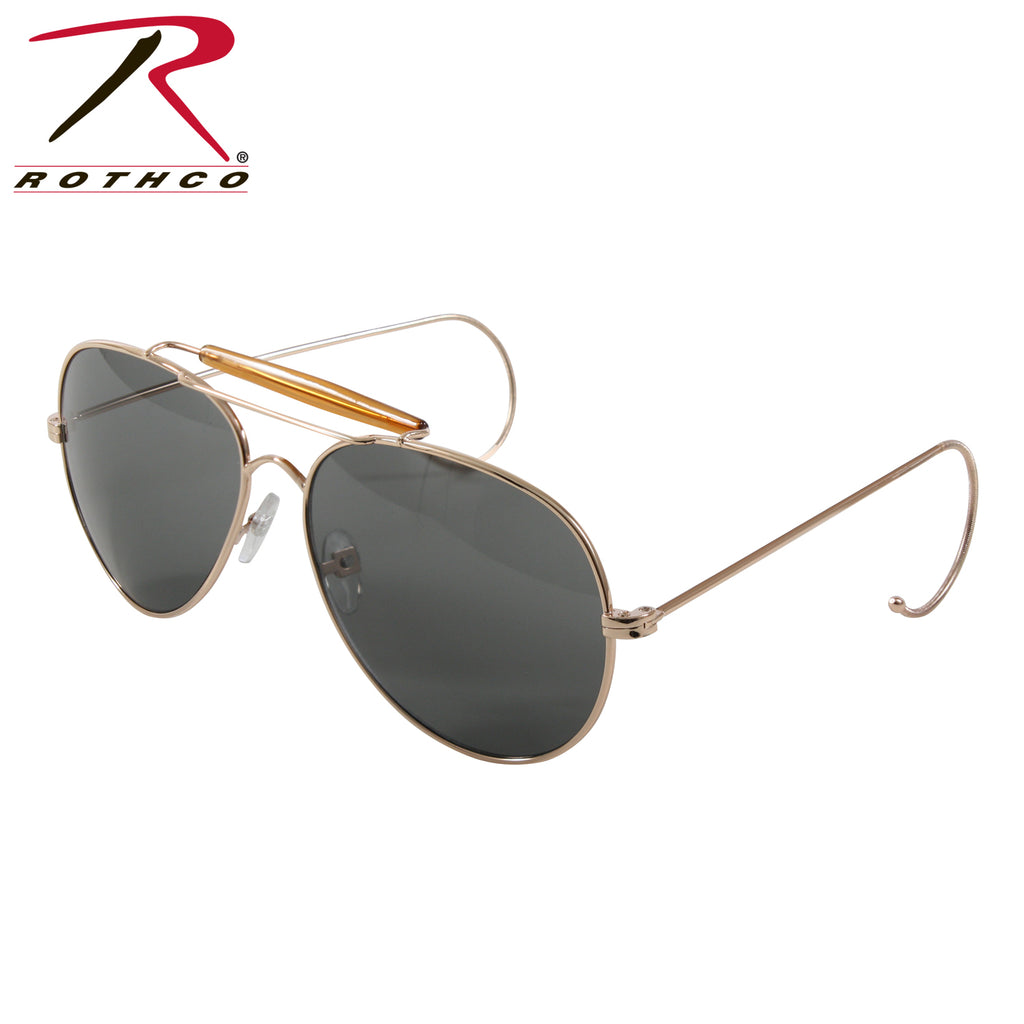 Rothco G.I. Type Air Force Pilots Sunglasses With Case