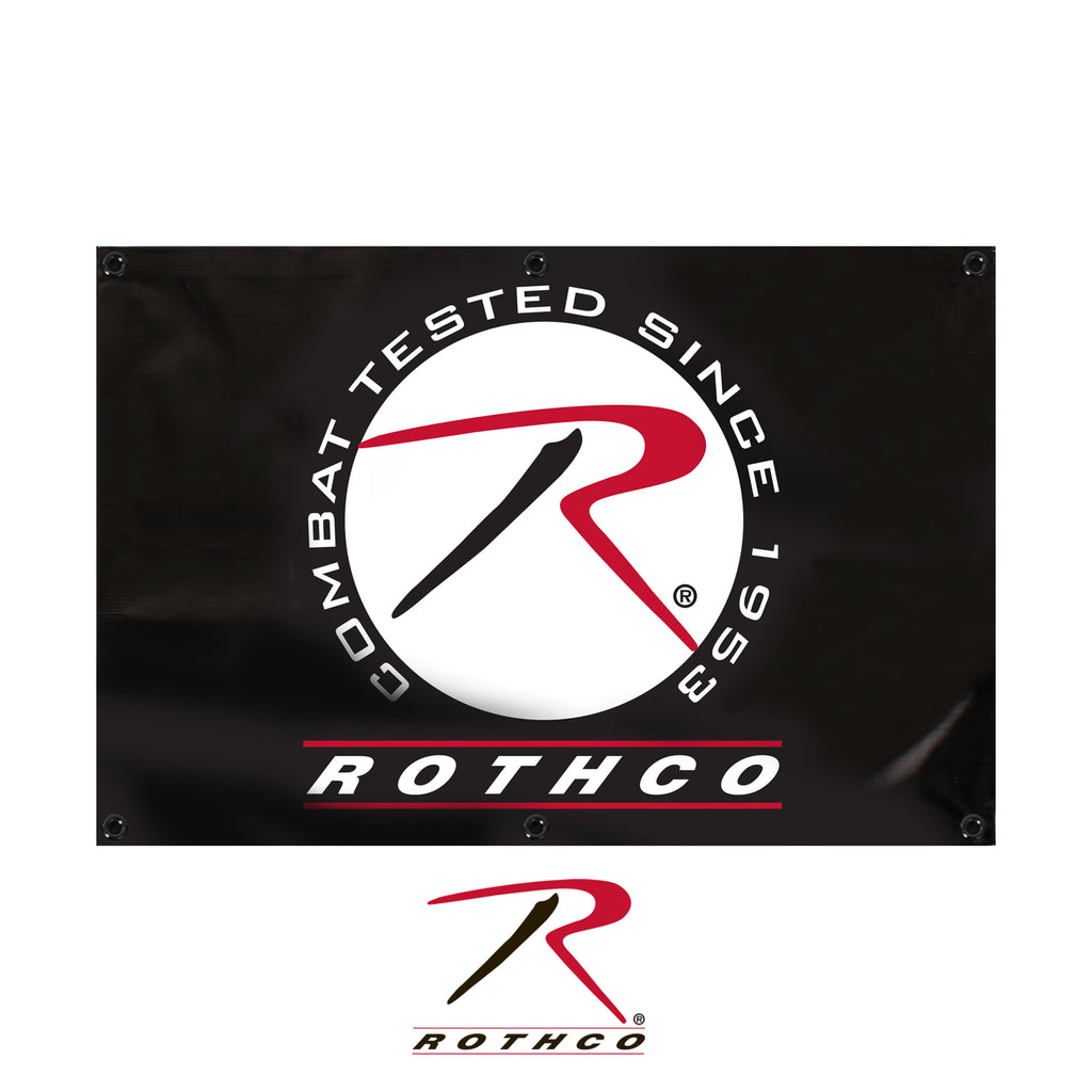 Rothco Banner - 2' High X 3' Wide