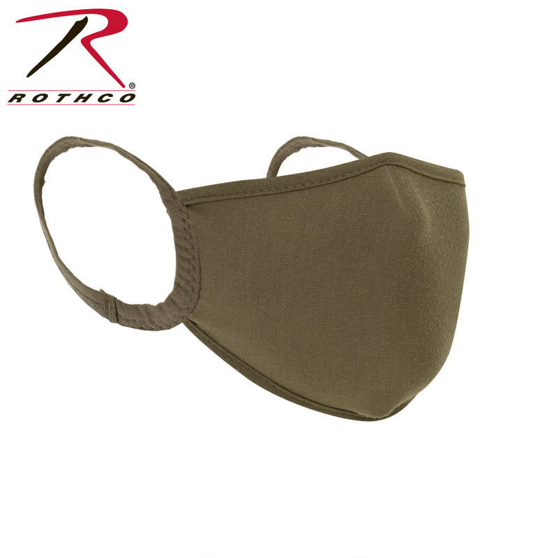 Rothco Reusable 3-Layer Polyester Face Mask