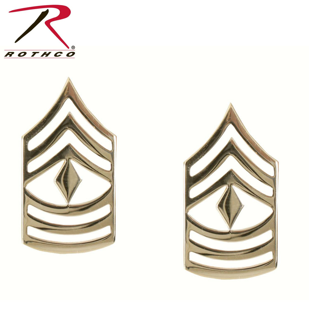 Rothco First Sergeant Polished Insignia