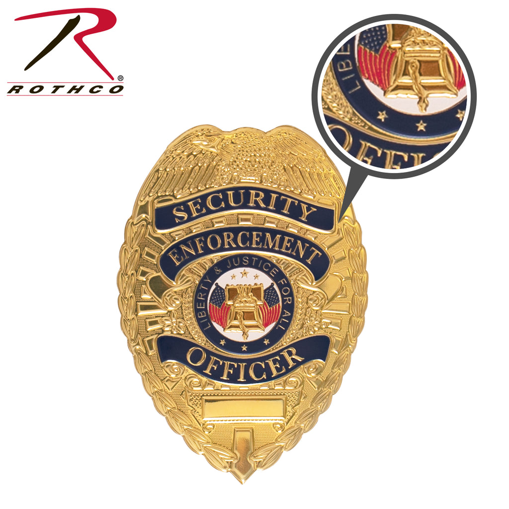 Rothco Flexible Security Badge