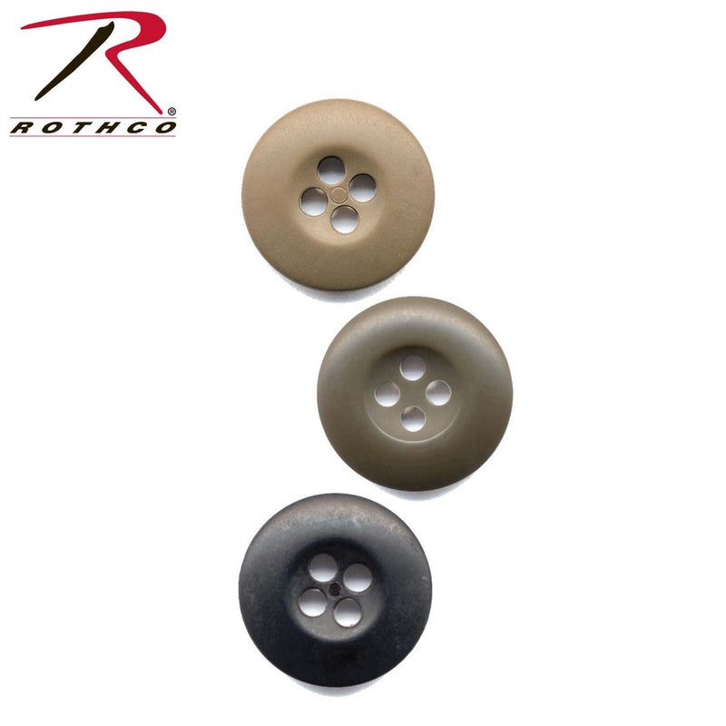 Rothco BDU Buttons Bag of 100