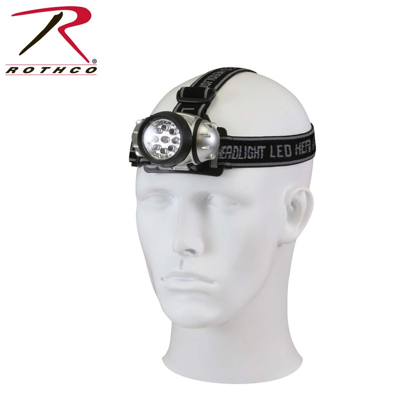 Rothco 9-Bulb LED Headlamp