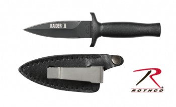 Rothco Black Raider II Boot Knife