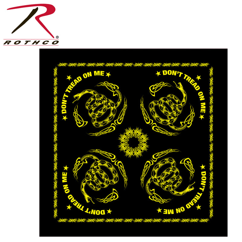 Rothco Gadsden Don't Tread On Me Bandana