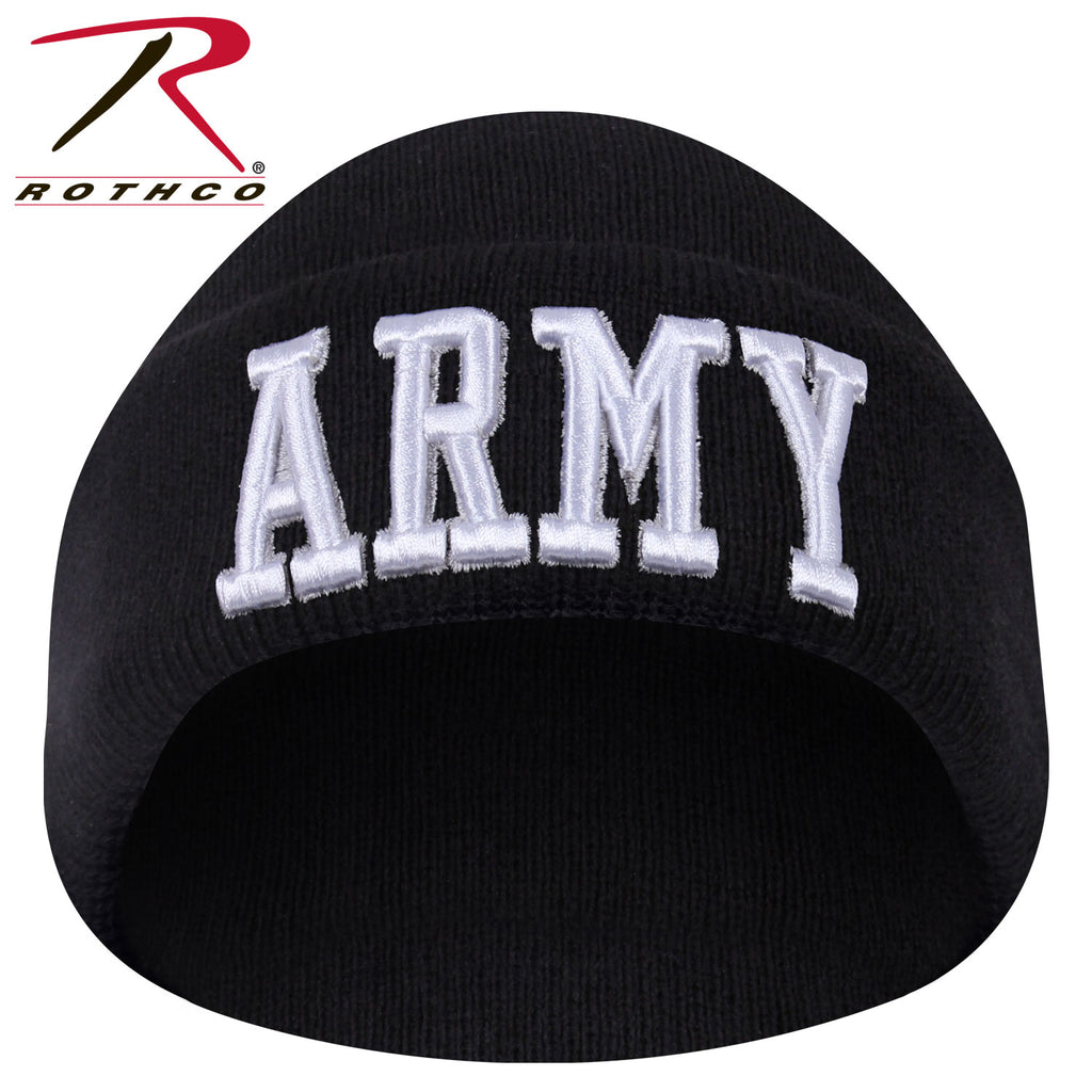 Rothco Deluxe Military Embroidered Watch Cap - qualityucanafford.com