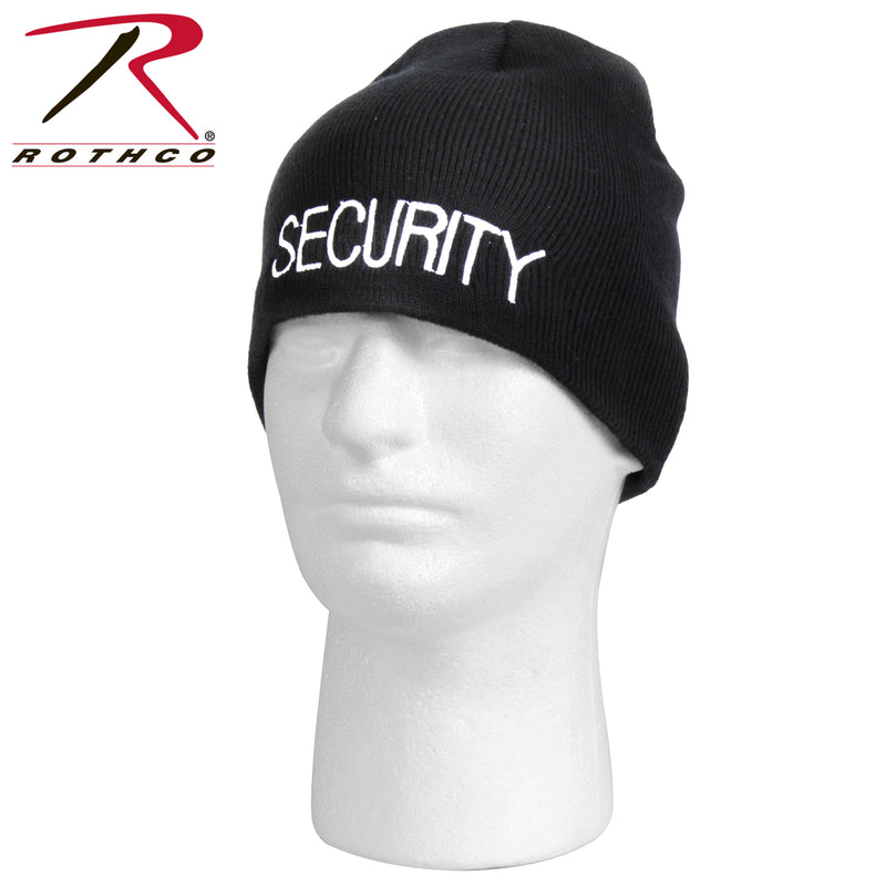 Rothco Embroidered Security Acrylic Skull Cap