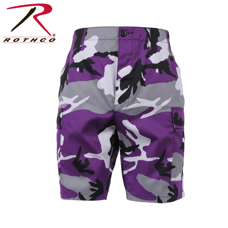 Rothco Colored Camo BDU Shorts
