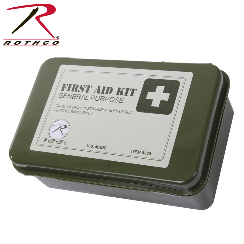 Rothco General Purpose First Aid Kit - 613902083356 - qualityucanafford.com