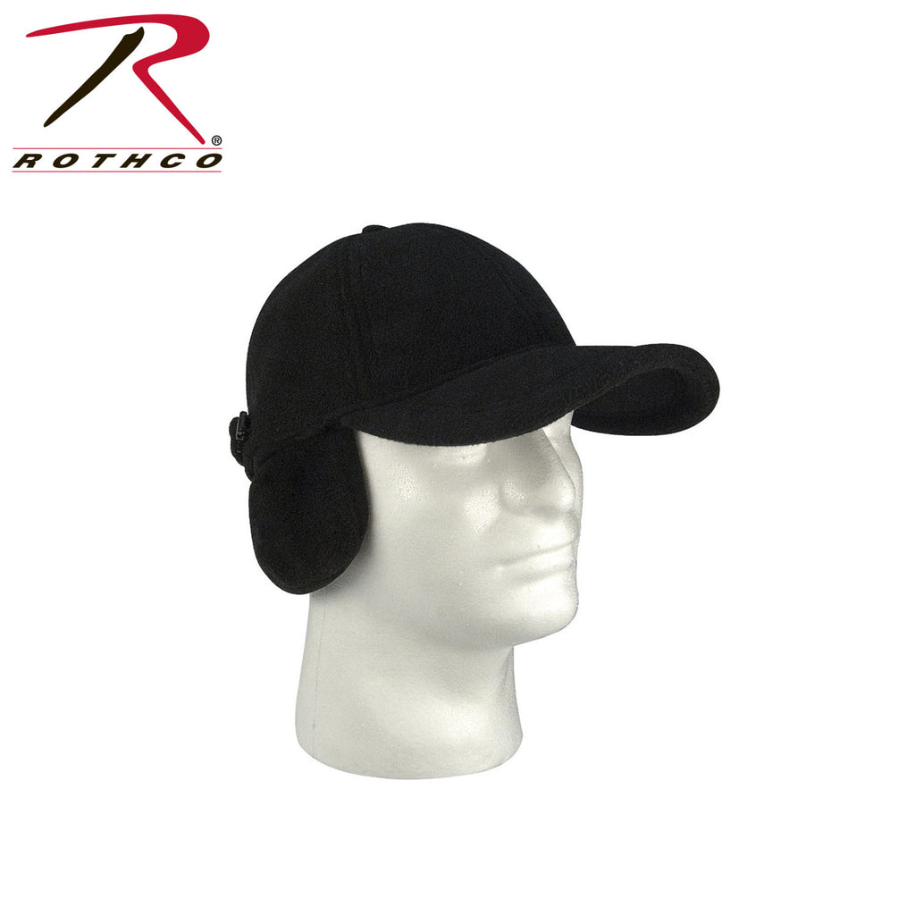 Rothco Fleece Low Profile Cap w- Earflaps