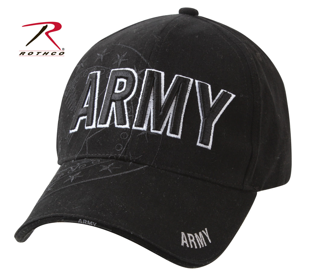 Rothco Deluxe Low Pro Shadow Cap - Army Eagle