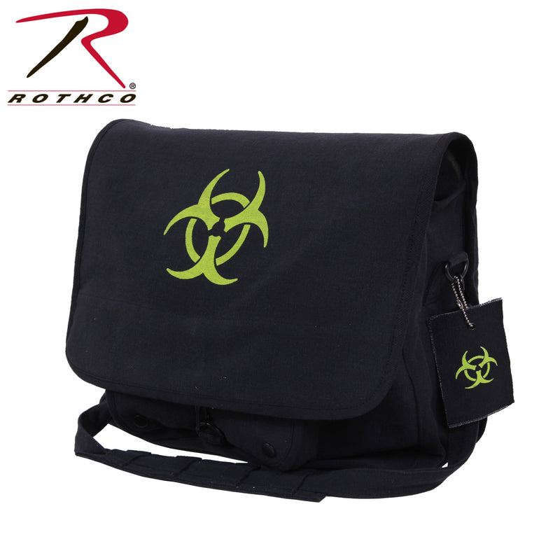 Rothco Bio-hazard Vintage Canvas Messenger Bag