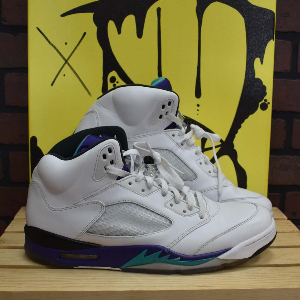 a0d2327bb2e68e Air Jordan 5 Grape - Size 14 – Divi s Streetwear