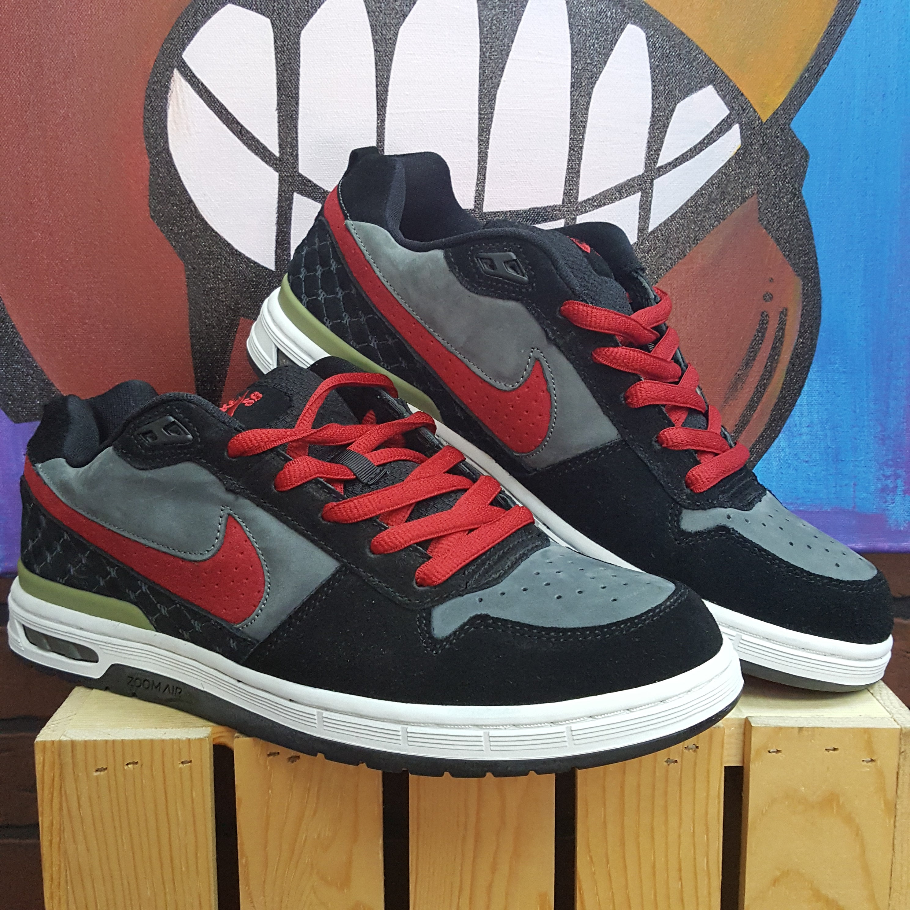 b1616736be34 Nike SB Zoom Air Low Dunks Paul Rodriguez - Size 11.5 – Divi s ...