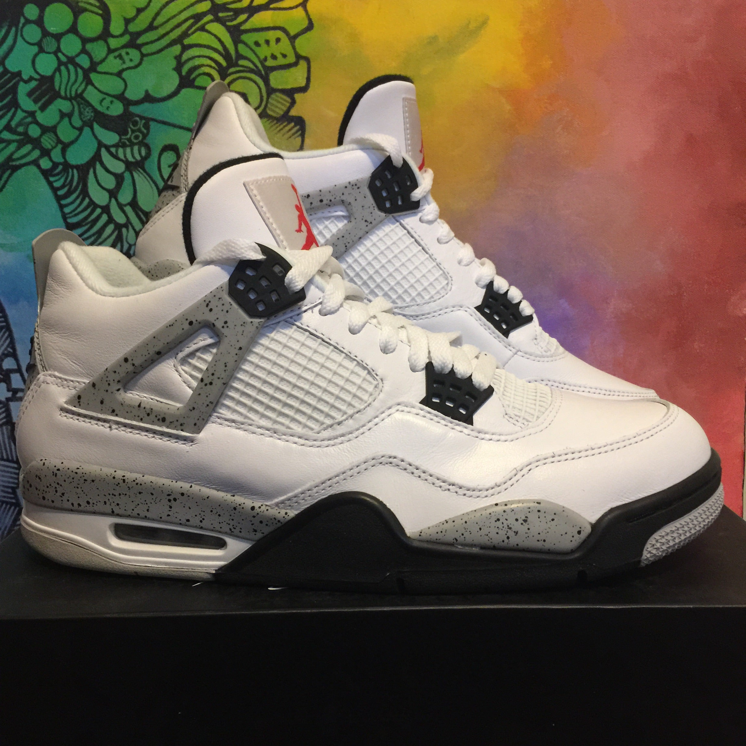 buy popular 50442 00456 Air Jordan Retro 4 OG Cement - Size 10.5
