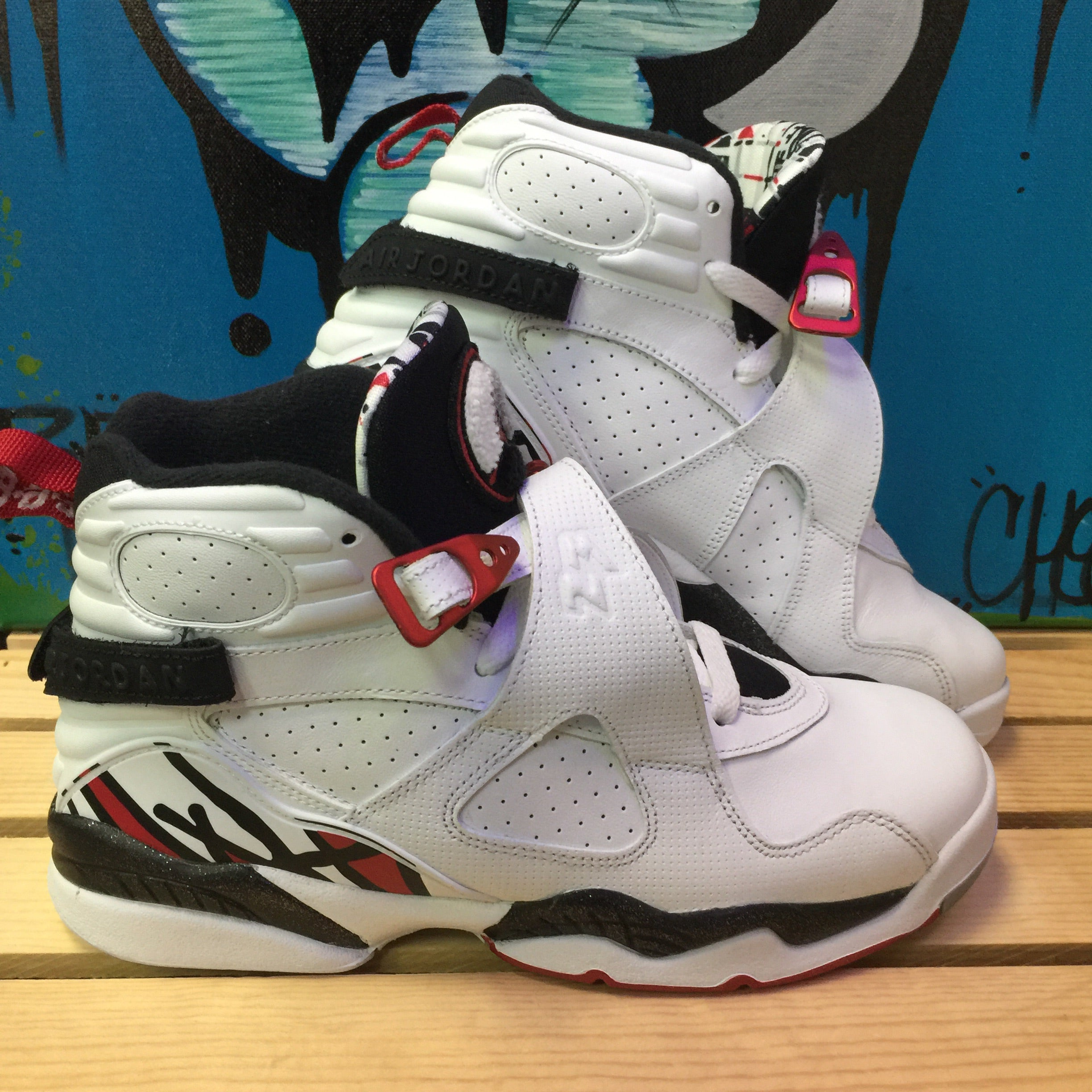 Air Jordan Retro 8 Alternate - Size 6.5Y – Divi s Streetwear aadda9482