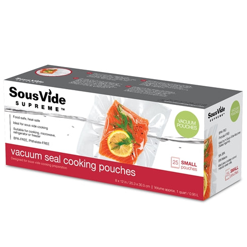 Vacuum Seal Cooking Pouches/Bags - Small